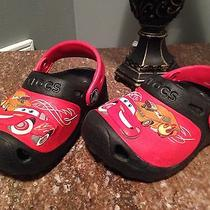 Disney Cars Crocs Size 6 Kids Photo