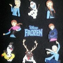 Disney Cars Frozen Mickey 6pc Shoe Charms for Crocs Jibbitz Bracelets Photo