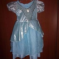 Disney Cinderella Fantasy Play Dress Up Gown One Size Most  - Polyester Nylon Photo