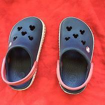 Disney Crocs Toddler Shoes Size 6/7 Photo