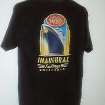Disney Cruise Line Dcl Fantasy Inaugural Sailings 2012-2013 T-Shirt Size M  Photo