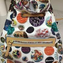 Disney Dooney and Bourke Mickey Mouse Disneyland Disneyworld Button Backpack Photo