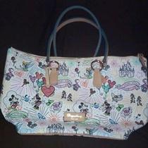 Disney Dooney and Bourke Tinkerbell Mickey Minnie   Photo