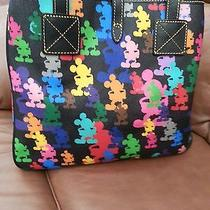 Disney Dooney & Bourke Mickey Mouse Wonder Silhouette Tote Handbag  Photo