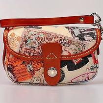 Disney Dooney & Bourke Walt Disney World 40th Anniversary Wristlet Nwt Retired Photo