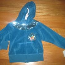 Disney Fairies Velour Hoodie for Toddler Girl Size 2t Photo