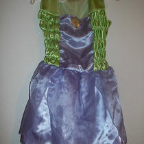 Disney Fantasy Play Tinkerbell Dress & Shoes Girls Size 4-6x Halloween Costume  Photo