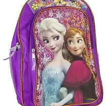 Disney Frozen Backpack Elsa & Anna Sisters Love Photo