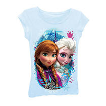 Disney Frozen Colorful Sister Tee Shirt - Medium Photo