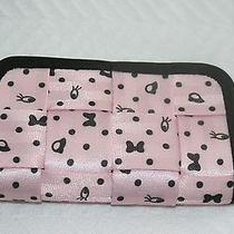 Disney Harveys Seat Belt Bag Blushing Minnie Mouse Clutch Wallet Purse Wristlet Photo