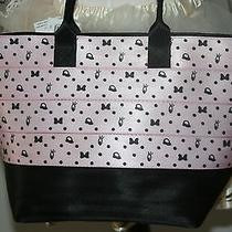 Disney Harveys Seat Belt Bag Blushing Minnie Mouse Streamline Medium Handbag Photo