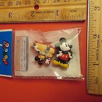 Disney Jibbitz Crocs Shoe Accessories Mickey Mouse & Skate Boarding Mickey  Photo