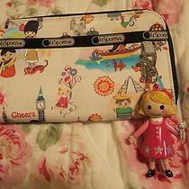 Disney Le Sportsac Around the World Iasw Wallet  Photo
