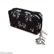 Disney Lesportsac Celebrate Minnie Mouse Wallet Zip Around Accordion Collectable Photo