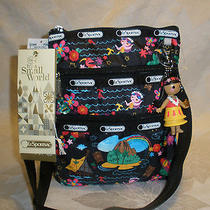 Disney Lesportsac Polynesian Paradise Small World Kasey Crossbody Bag Nwt Photo