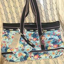 Disney Lesportsac Tahitian Dream Travel Tote Nwt Photo