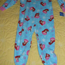Disney Little Mermaid Ariel Footed Sleeper Size 3t Nwt Photo