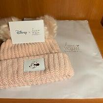 Disney Love Your Melon Adult Blush Rose Gold  Minnie Mouse Beanie Hat Nwt New Photo