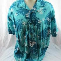 Disney Mens Hawaiian Camp Shirt Trader Mick's Surf Gear Walt Disney World Large Photo