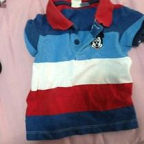 Disney Mickey Baby Shirt.  h&m 6-9 Months Photo