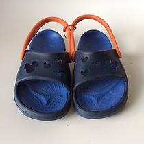 Disney Mickey Crocs Sandal Kids Size 10-11 - New Without Tags Photo