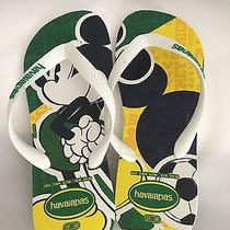 Disney Mickey Havaianas Flip Flops Brazilian Colors Photo