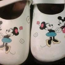 Disney Mickey & Minnie Birkenstocks Clogs Size 11  Photo