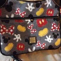 Disney Mickey & Minnie Mouse Letter Bag Dooney & Bourke Photo