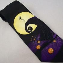 Disney Nightmare Before Christmas Necktie Tie Jack Skellington Tim Burton Photo