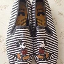 Disney Parks Keds Slip on Sneaker Womens 7 Mickey Mouse Authentic Euc Photo