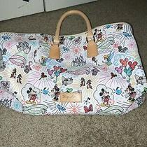 Disney Parks Sketch Weekender Luggage Bag Dooney & Bourke Duffle Bag Photo