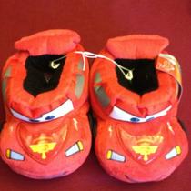 Disney Pixar Hudson Hornet Piston Cup Toddlers Slippers Size L (9-10) Free Ship Photo
