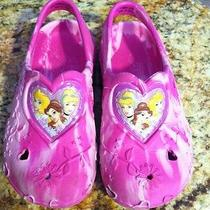 Disney Princess Crocs Sandals Size 10 Euc Photo