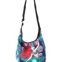 Disney Princess Little Mermaid Ariel  Stained Glass Hobo Bag Photo
