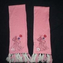 Disney Princess Pink Scarf Scarves 2 Sisters or Twins Photo