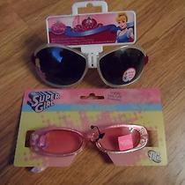 Disney Princess & Super Girl  Girls Sunglasses & Cute Purse / Wallet / Wristlet Photo
