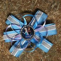 Disney's Frozen Sister's Hair Bow Blue Photo