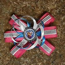 Disney's Frozen Sister's Hair Bows Pink Photo