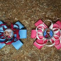 Disney's Frozen Sisters & Anna Hair Bows  Photo