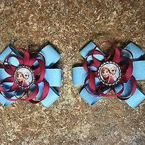 Disney's Frozen Sisters Hair Bows  Photo