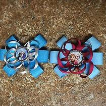 Disney's Frozen & Sisters Hair Bows  Photo