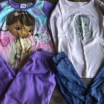 Disney Sophia and Doc Mcstuffins Lot of Pajamas Girls Size 4t Gap Photo