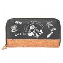 Disney Store Japan Mickey & Friends Long Wallet Purse d.i.y. Lovers Photo