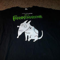 Disney Tim Burton Frankenweenie Shirt - Xl Photo