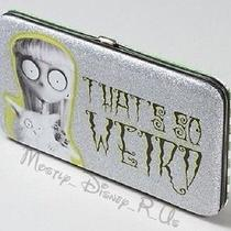 Disney Tim Burton's Frankenweenie That's So Weird Girl Snap Hinge Wallet New Photo