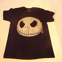 Disney Tim Burton the Nightmare Before Christmas Jack Head T Shirt  Photo