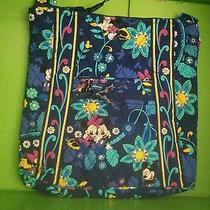 Disney Vera Bradley Large Hipster Bag Purse in Disney Dreaming New With Tag G  Photo