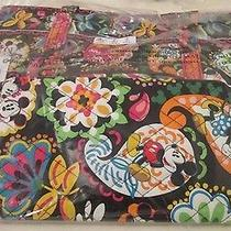 Disney  Vera Bradley Large Tote Bag Midnight With Mickey New Tags Photo