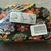 Disney Vera Bradley Midnight Mickey Design Smartphone Zip Id Wallet Wristlet Photo