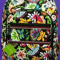 Disney Vera Bradley Midnight With Mickey Campus Backpack Bag Minnie New With Tag Photo
